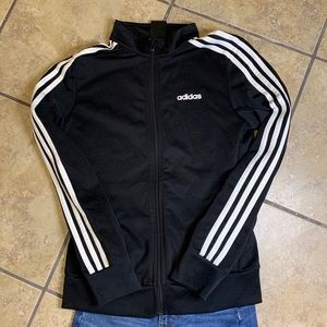 adidas Jackets & Coats - Adidas black track jacket.